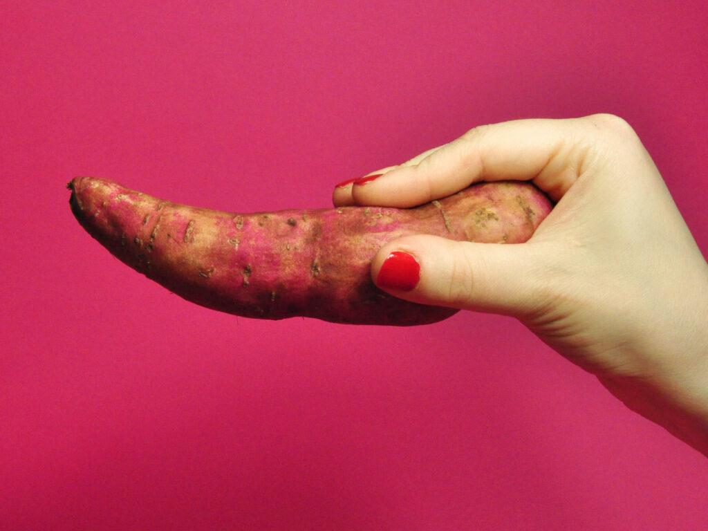 Suesskartoffel rosa